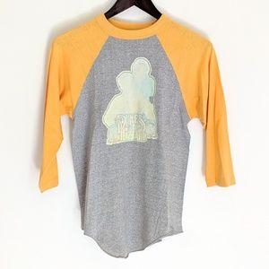 Vintage 80's Dukes of Hazard Raglan Tee Tshirt